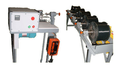 Bobbin Winder with Special Pay Off Stand For Textile Yarn